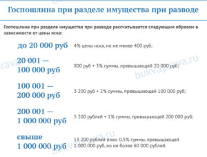 Сколько стоит развод в 2020 году через суд в москве