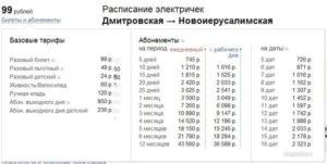 Абонемент на электричку большая москва цена на 2020 год