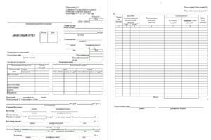 Как оформить авансовый отчет по чекам почты россии