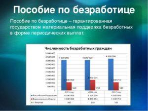Выплата по безработице в москве