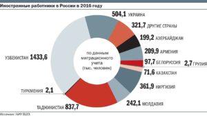 Нелегальные мигранты в россии статистика