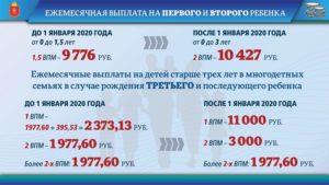 Выплаты за рождение третьего ребенка в 2020 году новосибирск