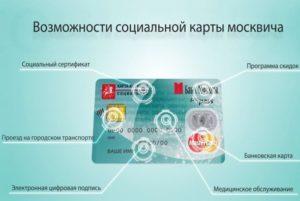 Кому полагается социальная карта москвича в 2020 году