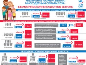 Выплаты многодетной семье московская область
