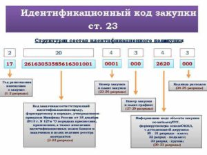Идентификационный код закупки икз где взять
