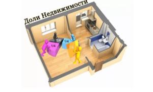 2020 год размер какой доли в квартире можно подарить в москве