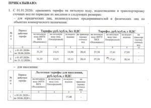 Общедомовые нужды с 01 января 2020
