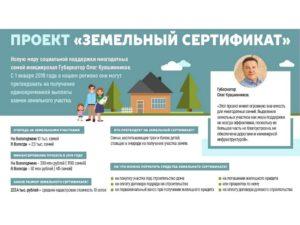 Земельный сертификат многодетным спб 2020 как применить