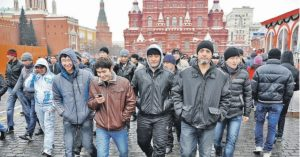 В москве сколько человек мигрант