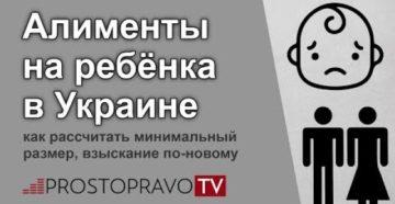 Алименты на ребенка новый закон 2020 украина и студентов