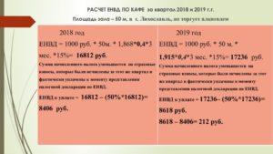 Расчет енвд для ип в 2020 году онлайн калькулятор розничная торговля
