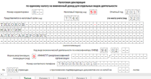 Заполнение декларации при закрытии ип 2020