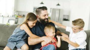 Будет ли отец многодетным если дети от разных браков