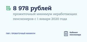 Какой прожиточный минимум пенсионера установили в спб на 2020 год