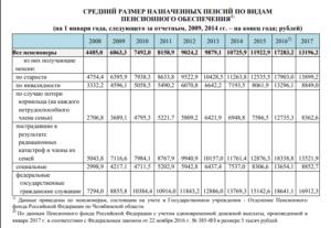 Размер социальной пенсии по потере кормильца в 2020 в московской области