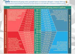 Кому положена субсидия на оплату коммунальных услуг в 2020 в воронеже