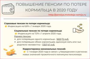 Пенсия по потере кормильца в 2020 году сумма размер в мурманске все выплаты общая сумма
